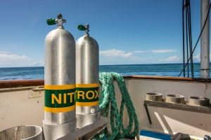 Cairns Nitrox Certification Course on The Great Barrier Reef Liveaboard, Reef Encounter Dive