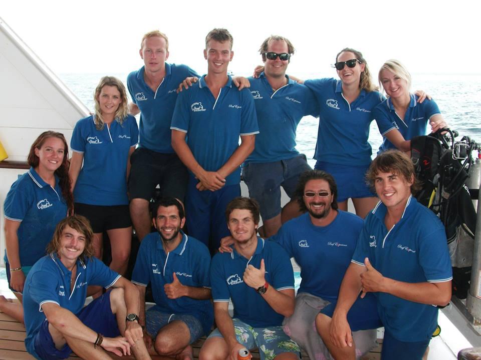 Reef Encounter Crew