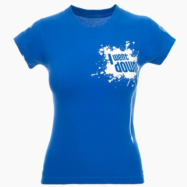 I Went Down Tshirt front